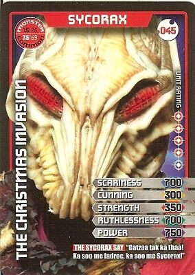 Dr Who Monster Invasion Test Set 045 Sycorax