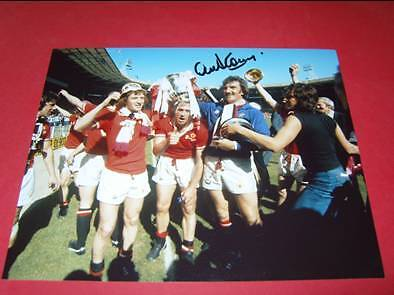 Alex Stepney Man Manchester Utd signed photo COA EPS