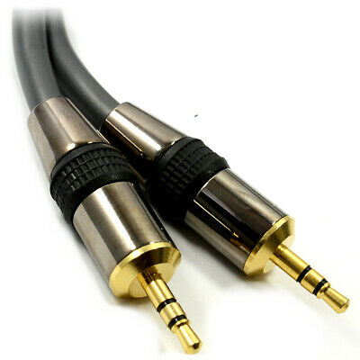 Ultra High Quality 3.5mm Jack Cable Low Loss Lead 1.5m
