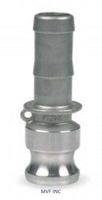 """4"""" Type E Camlock Male Adapter x Hose Barb 304 Stainless Fitting <E400SS304"""