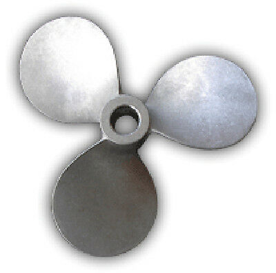"3"" dia. 316SS square pitch mixing propeller - 30MP"