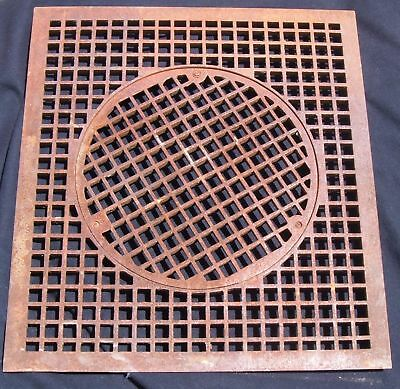 Large Antique Heat Grate Grill Cold air Return vent 29x26