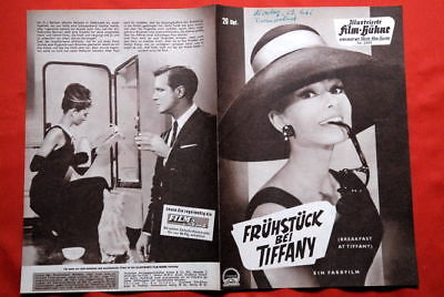 Breakfast At Tiffany Hepburn 1961 German Movie Program