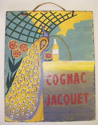 Cognac Jacquet by Camille Bouchet slate wall hanging