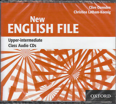 NEW ENGLISH FILE Upper-Intermediate Class Audio CD's @BRAND NEW & SEALED@