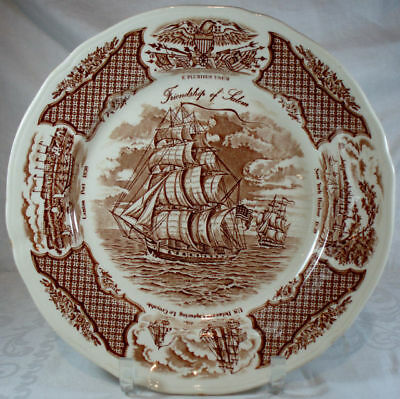 Alfred Meakin Fair Winds-Brown Dinner Plate