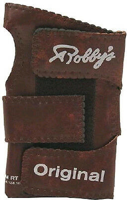 Robby Bowling Original Positioner Brown Left Hand Small FREE SHIP Glove Support