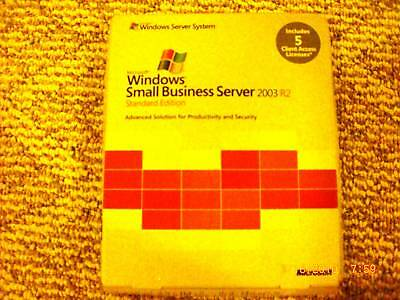 MS Windows Small Business Server 2003 R2,T72-01411,5CAL