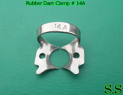9 Pcs Endodontic Rubber Dam Clamp # 14A