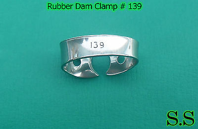12 Pcs Endodontic Rubber Dam Clamp # 139