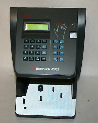 ADP HandPunch 4000A Biometric w/ Ethernet 1 Year Warrantee