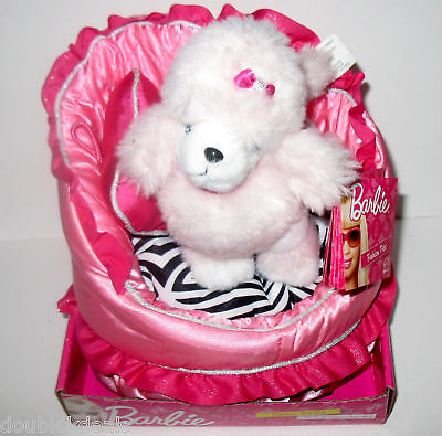 New Barbie Fashion Pet Set - Sequin The Puppy + Couch