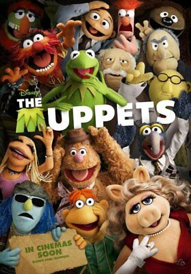 Brand New Movie Poster Print: The Muppets *BUY ONE GET ONE FREE*  A3 / A4