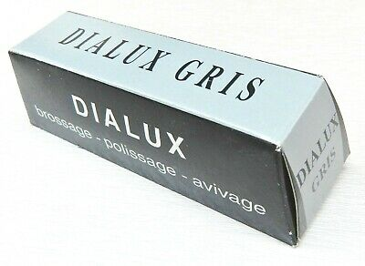 Dialux Gray Polishing Compound Rouge Dialux Gris Stainless Steel Grey Polish Bar