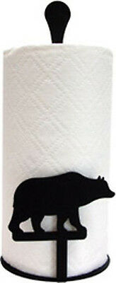 Bear Paper Towel Stand by Village Wrought Iron New