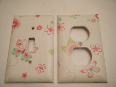 LIGHT SWITCH PLATE & OUTLET COVER W/ KIDSLINE BELLA