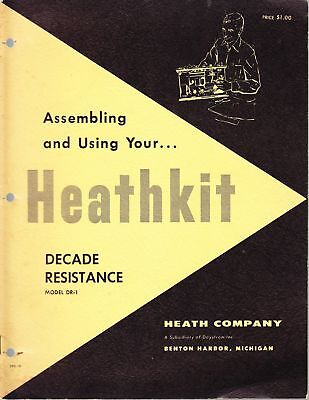 Heathkit Assembly Manual For Decade Resistance Box