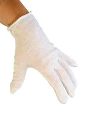 Inspection Gloves White Cotton Glove Lisle 1 Dz Coins