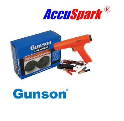 AccuSpark H8000 Timing lamp  , Gunson carb balancer
