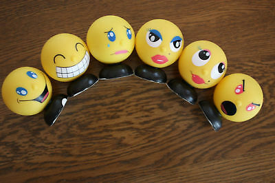 NEW Complete Set of 6 Buddy Hedz!  SAVE SHIPPING $$$$$$