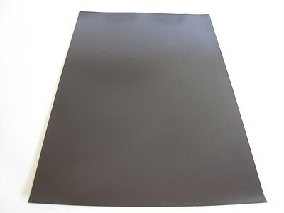 2 x A4 Self Adhesive Magnetic Sheet 0.85mm Thick