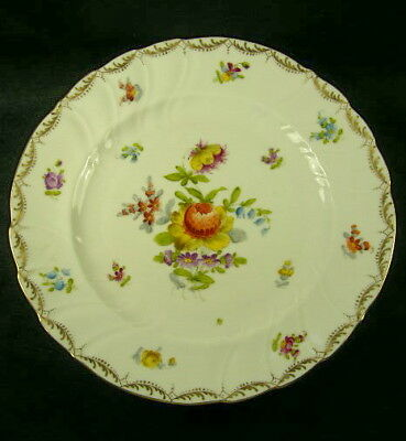 Large Hand Painted Dresden Plate / Charger