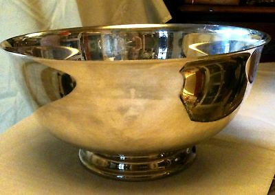Reed & Barton Paul Revere Silverplated Bowl