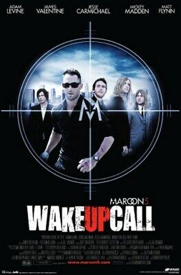 MAROON 5 POSTER - WAKE UP CALL Five - NEW HOT 24X36