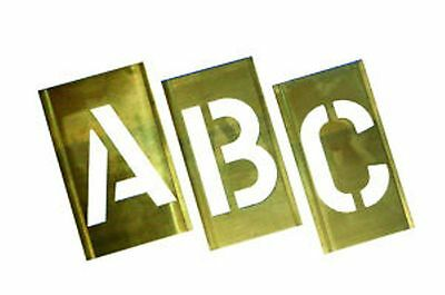 Industrial Stencils Interlocking Metal A-Z Set 12mm