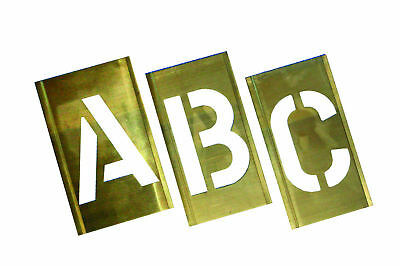 Industrial Stencils Interlocking Metal A-Z Set 62mm