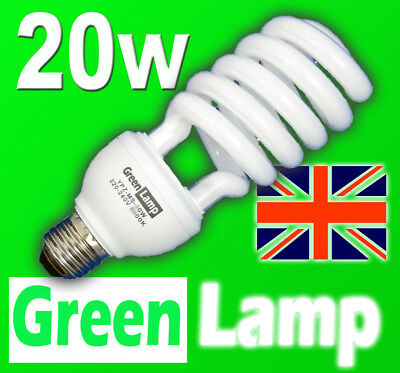 20w => 100w 2700k Energy Saving CFL Warm bulb ES E27
