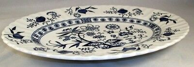 "JG Meakin BLUE NORDIC Platter 12""  GREAT CONDITION"