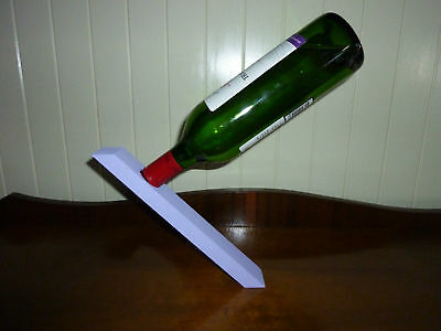 Wine Bottle Magic Stand - Mauve - Great Gift