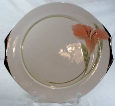Villeroy and Boch Iris Peach/Black Bread n Butter Plate