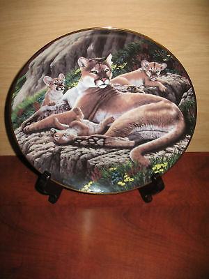 Alpine Antics by R.G. Finney - Fleetwood Collection, Beautiful Deco Plate