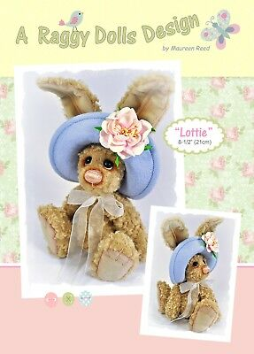 LOTTIE HARE - Sewing Craft PATTERN - Artist Bear Pattern