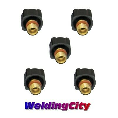 5-pk TIG Welding Back Cap 41V33 (Short) for Torch 9/20/25 | US Seller Fast Ship