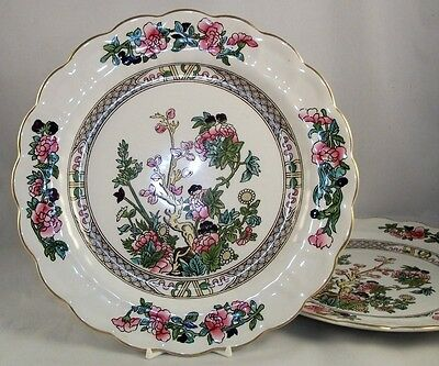 Booths INDIAN TREE 2 Dinner Plates GREAT VALUE A8138