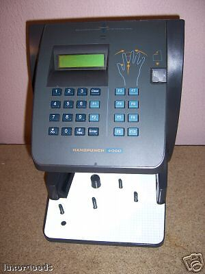 Hand Punch 4000  w/ Ethernet & Memory Upgrade  HP-4000