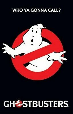 GHOSTBUSTERS MOVIE POSTER NO GHOST LOGO BUSTERS