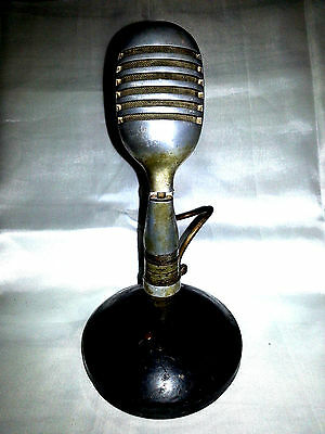 Microfono Microphone Antiques Vintage Old Epoca Antique