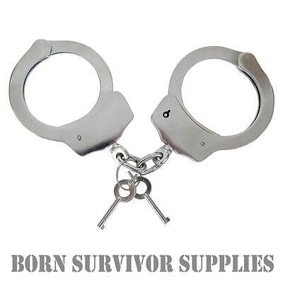 VIPER HEAVY DUTY HANDCUFFS Official Police Double Lock