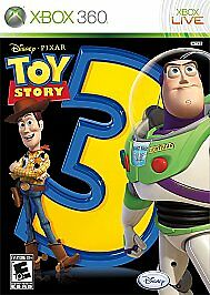 *NEW* XBOX 360 TOY STORY 3 THE VIDEO GAME *SEALED*