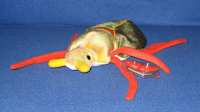 839d24cd4c9 TY BEANIE BABY - SCURRY the Beetle - Pristine with Mint Tags ...
