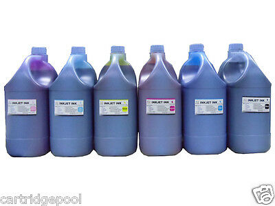 6 Gallon/6X128OZ Refill ink for HP Canon Lexmark Brother Lexmark ink cartridge