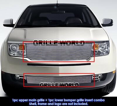 For 07-10 Lincoln MKX Billet Grille Combo Insert
