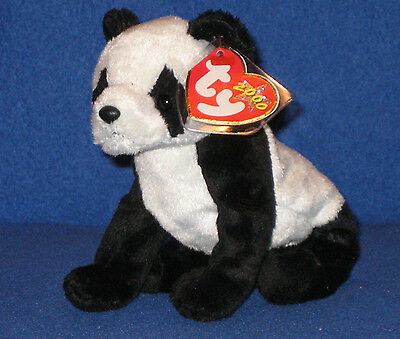 TY CHINA the PANDA BEANIE BABY - MINT RETIRED