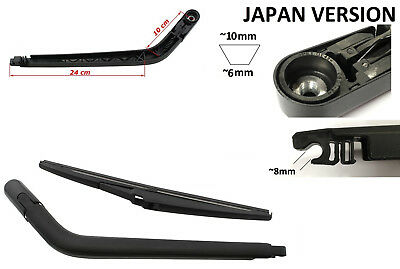 Toyota Yaris Rear Wiper Arm & Blade Japan Windscreen