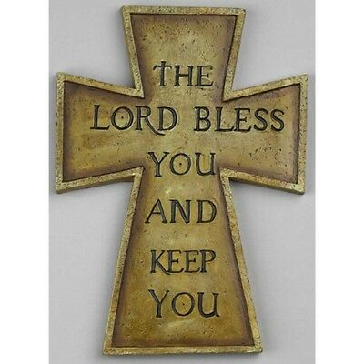 The Lord Bless You Wall Cross