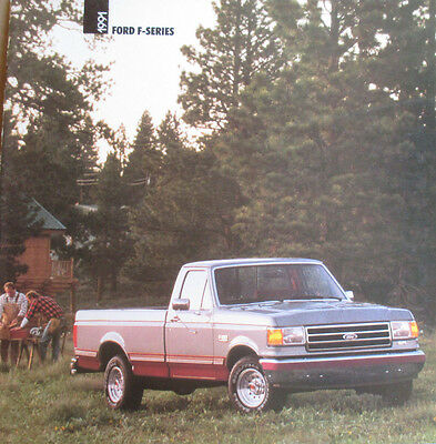 Good Condition 1991 FORD F-SERIES/THREE CAB STYLES BROCHURE 91